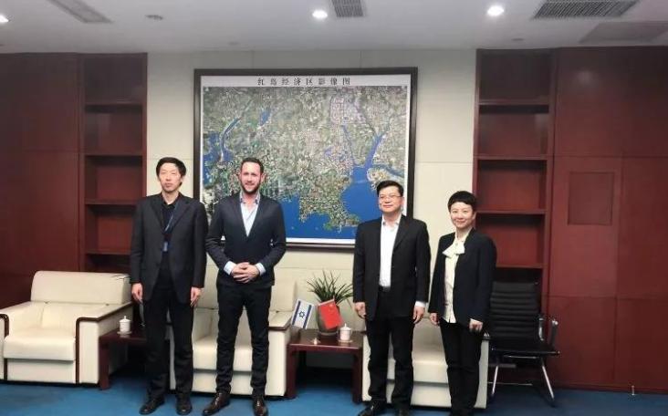 以色列创业加速器StartupEast到访青岛高新区